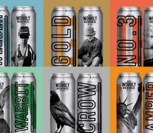 The Wobbly Brewery Beer Range