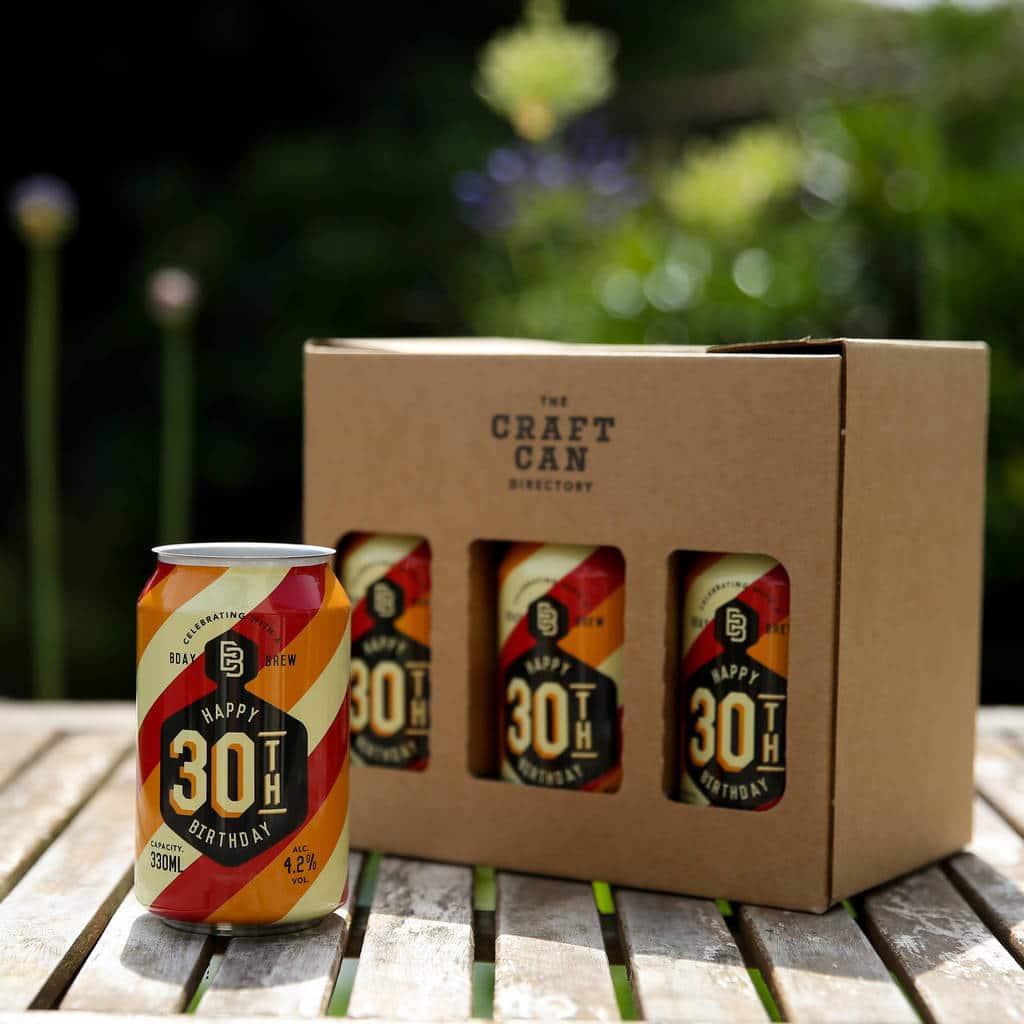 Original Th Birthday Brew Craft Beer Gift Pack