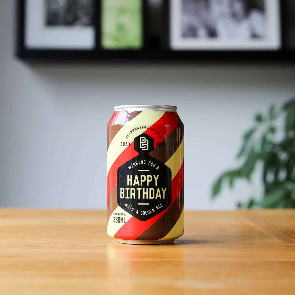 Original Birthday Brew Craft Beer X Ml Cans